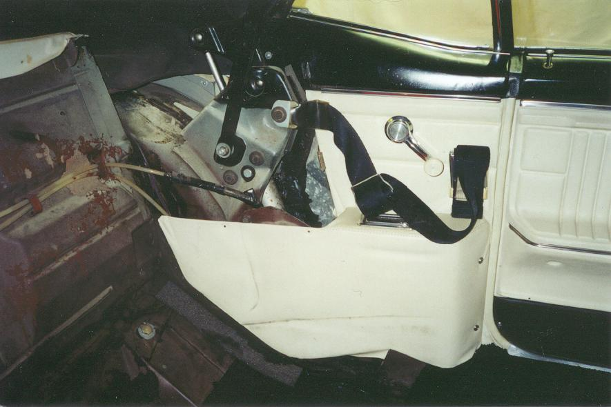 1967 camaro shoulder harness - convertible