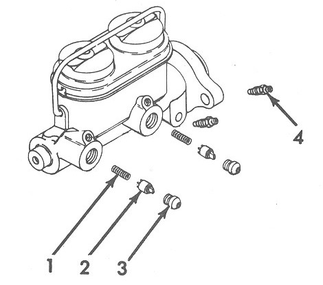 Drum Master Cylinder and components