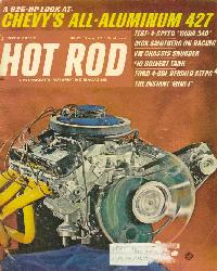 December 1968 Hot Rod Magazine Feature