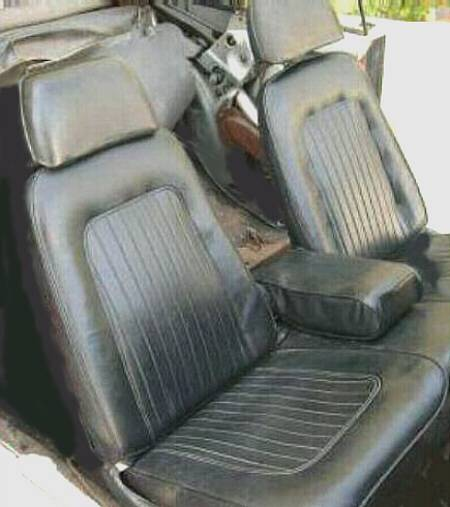 67 Front Bench Seat Team Camaro Tech