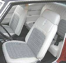 Seats with headrests