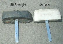 Headrest bars