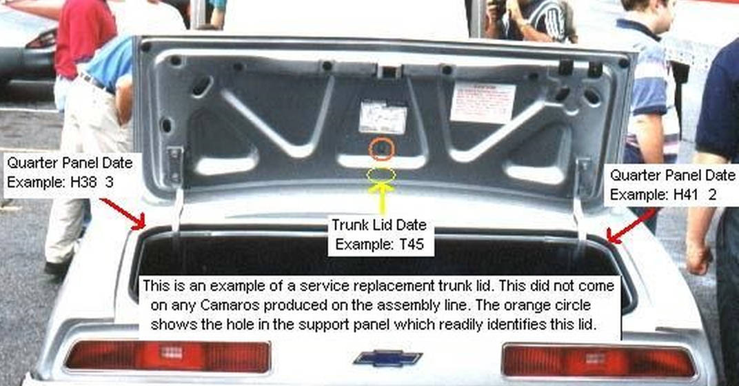 service trunk lid
