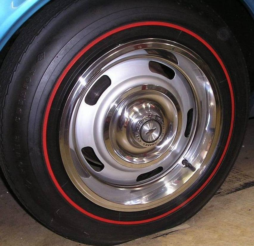 camaro factory options 67 rally wheel