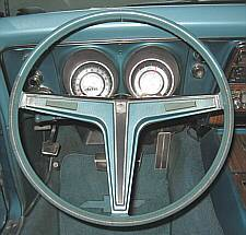 Early 1968 N30 Steering Wheel