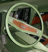 "1969 Z23/Z87 Wood-grained Shroud with ""SS"""