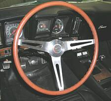 Later 1969 Rosewood Steering Wheel
