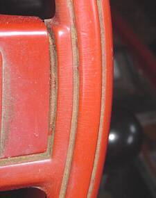 "1969 ""smooth"" steering wheel"